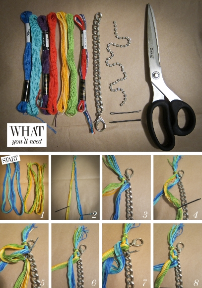手鍊·編織·diy編織手鍊教學 – 青蛙堂部落格