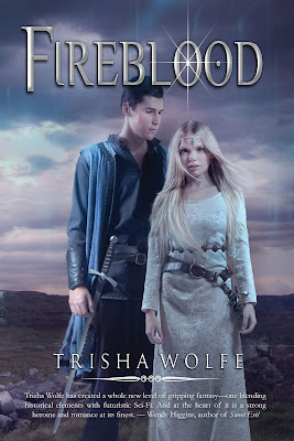 Cover Reveal! Fireblood by Trisha Wolfe