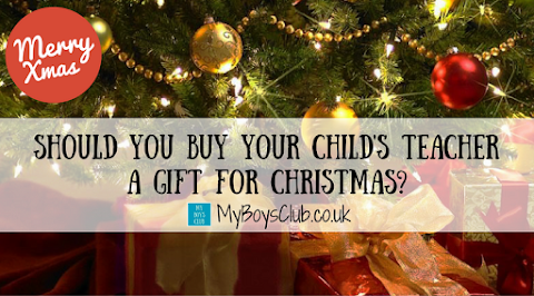 Should you buy your child's teacher a gift for Christmas?