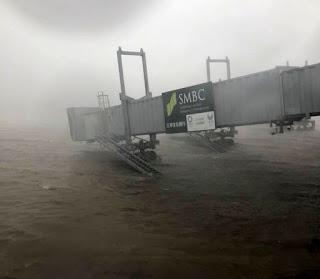 Dampak Taifun Di Kansai, Penerbangan Garuda Indonesia Dari Dan Ke Osaka Dibatalkan