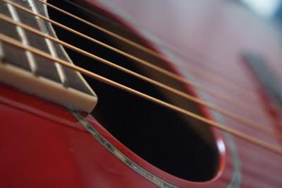 Classic Guitar Detail por Sten Jørgen Pettersen
