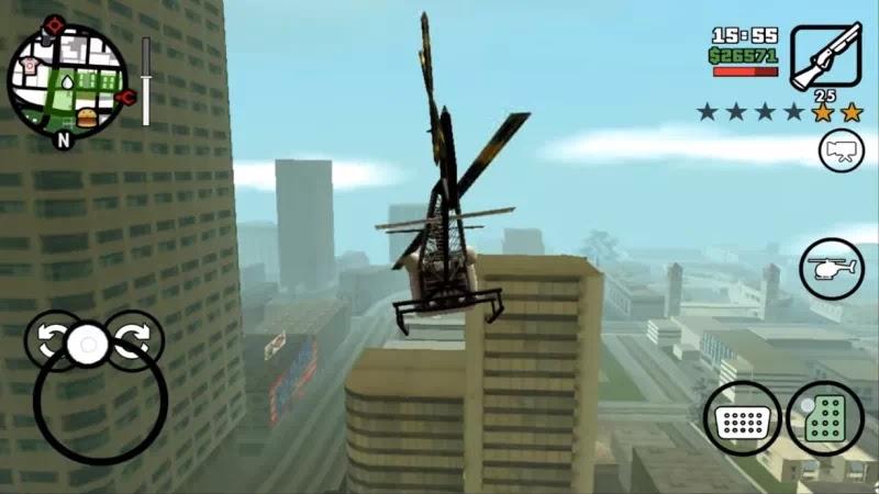 GTA SA Original Rockstar Games Apk Data Obb v1.08 1.7GB