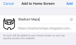 Find Stadiums & Arenas Near You Mobile App