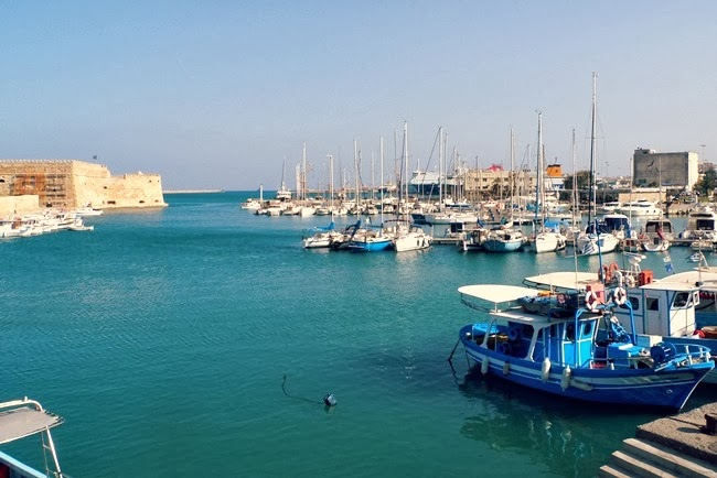 Heraklion Old Venetian Port