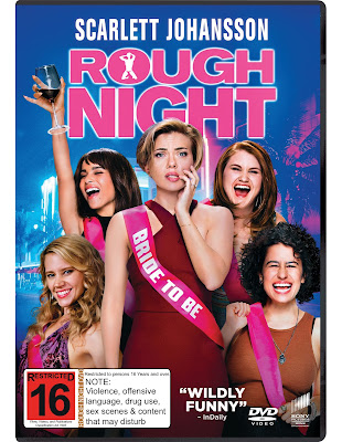 Rough Night, out now on DVD and Blu Ray