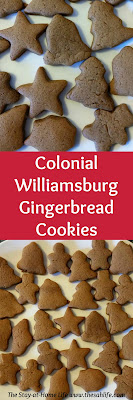 colonial williamsburg, gingerbread, gingerbread cookies