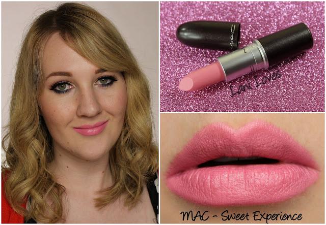 MAC Sweet Experience lipstick swatch