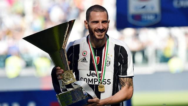 Buffon Percaya Bonucci Tidak Akan Meninggalkan Juve