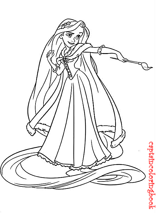 Tangled Coloring Pages free download  Coloring Page