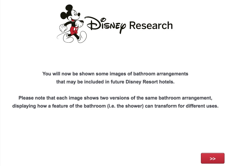 They survey started with some more   what I d call   traditional set ups   Some more  spa like  than others  In addition to showing some bathroom  setups. Disney Resort Hotel Bathroom Survey   What Will The Future Shower