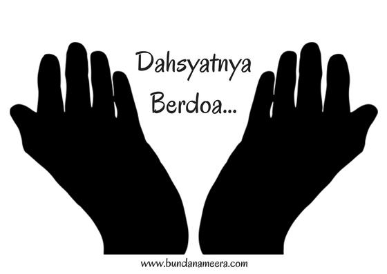 Bunda Nameera's Blog: Dahsyatnya Berdoa