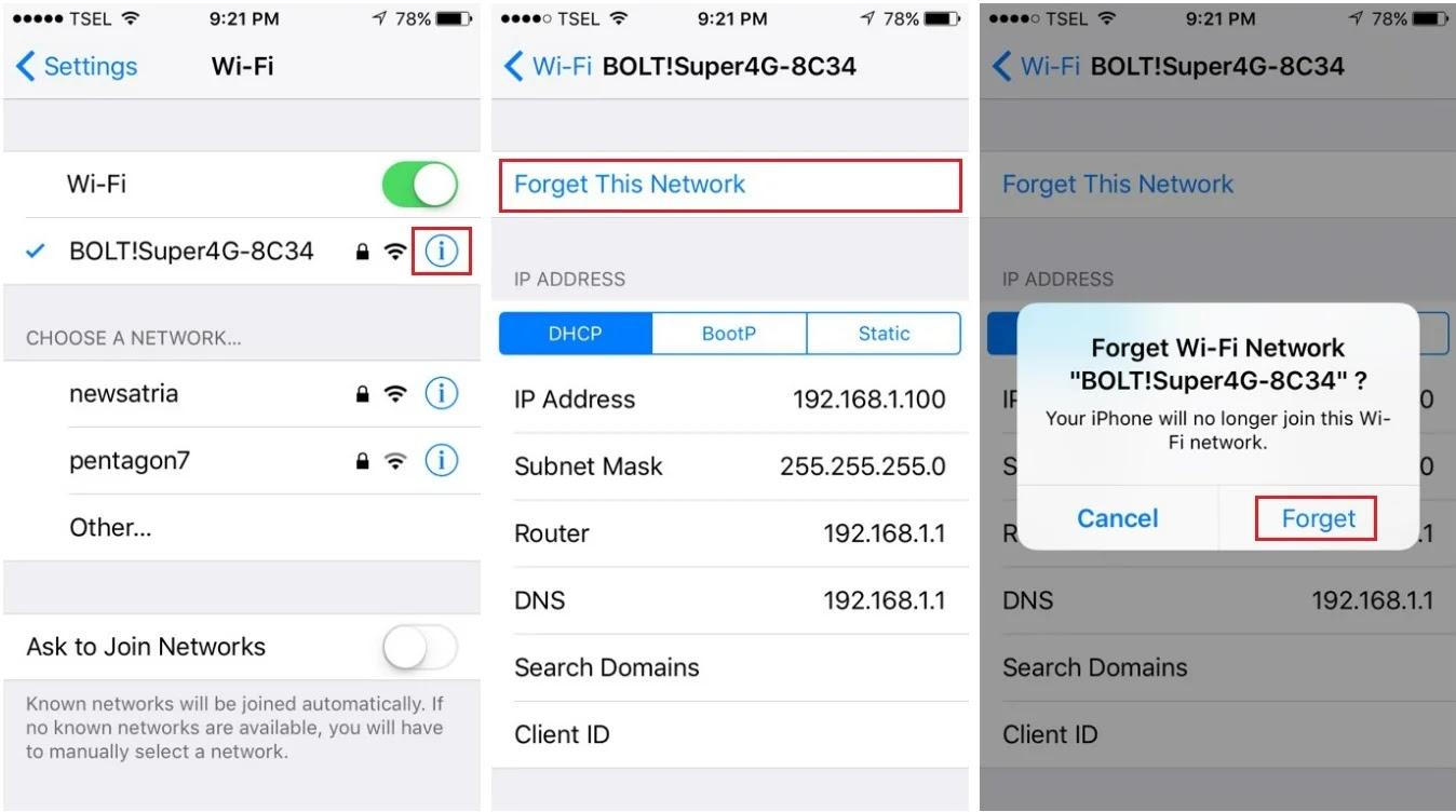 Mengatasi Iphone Tidak Bisa Tersambung Ke Wifi Catatan Bro Ari