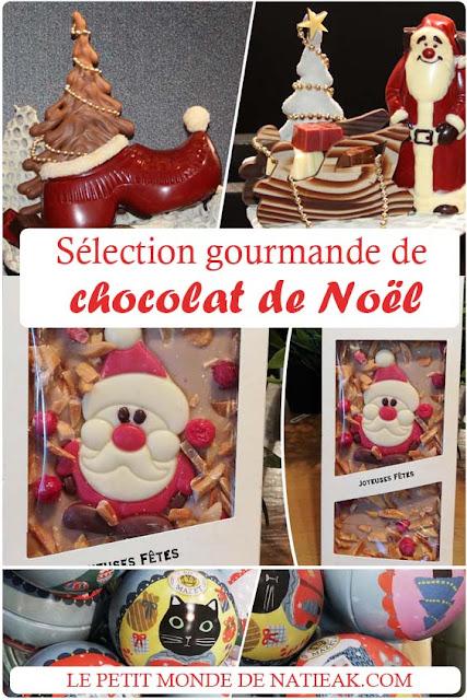 Sélection gourmandes de chocolat de Noël