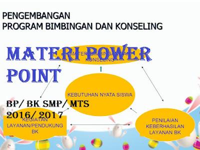 Materi Bimbingan Konseling SMP Kelas 7, 8, 9 ( Media Power Point )