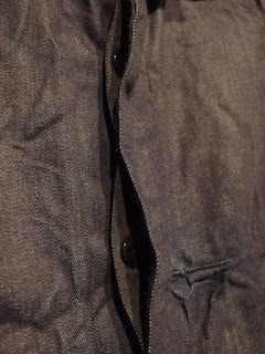 """TOUJOURS """"Coverall Jacket in Indigo 12oz. Cotton Selvage Denim Cloth"""""""