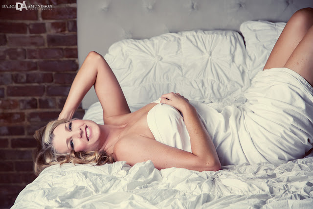 Denver Colorado bed boudoir photography