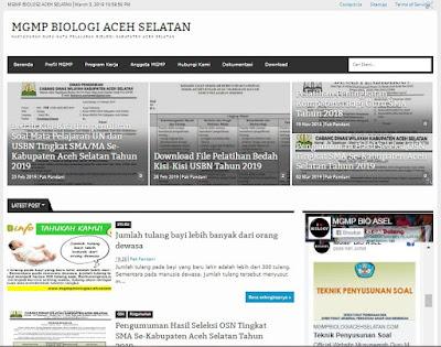 MGMP Biologi Aceh Selatan