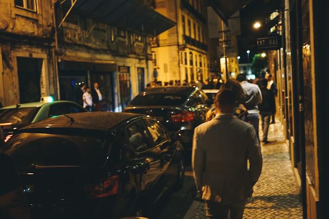夜のリスボン散策