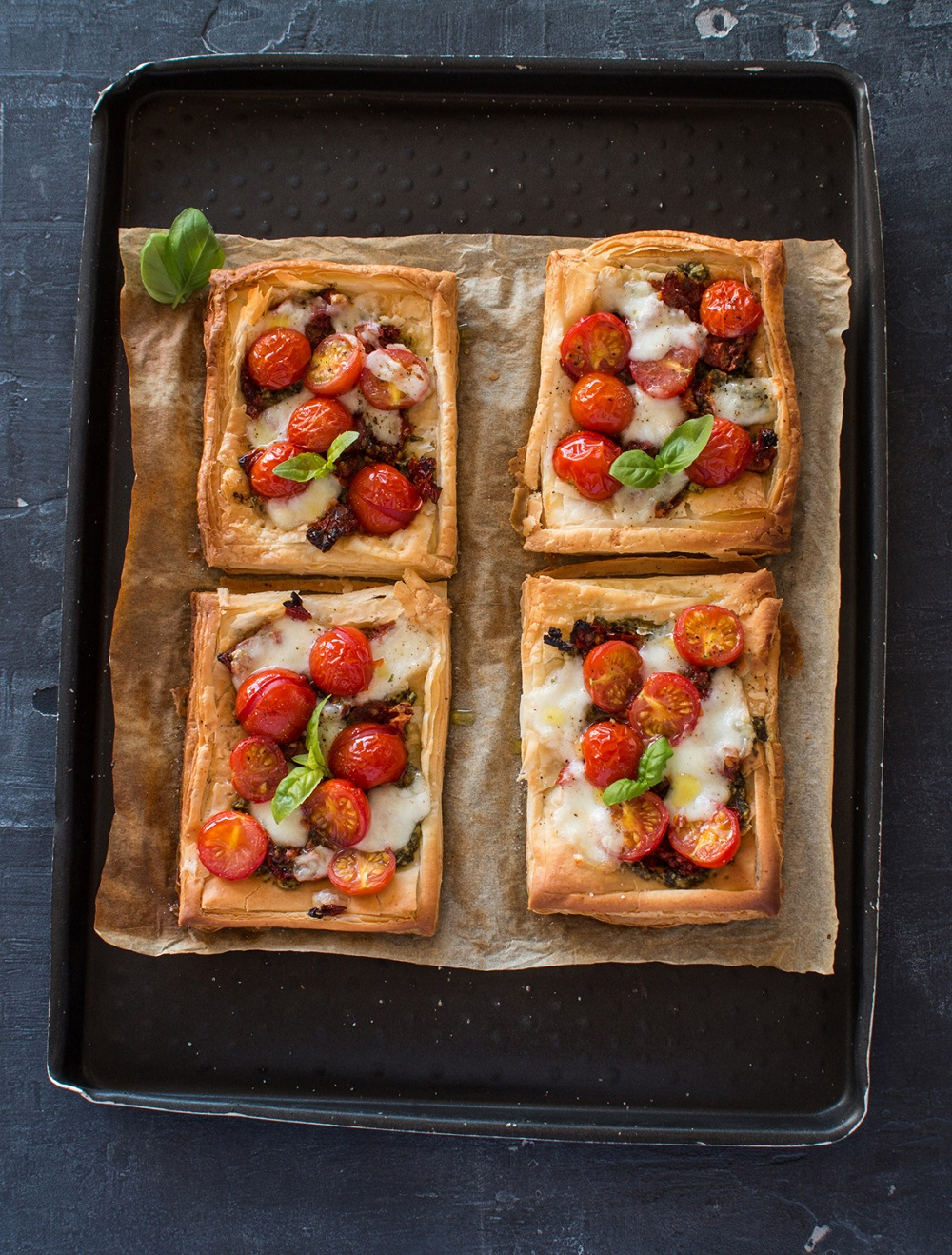 Isle of Wight Tomato Lunchbox Tarts