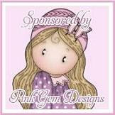 Pink Gem Designs Sponsor Badge