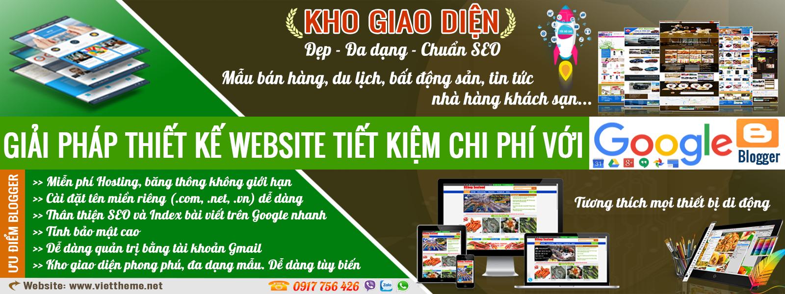 Giải pháp thiết kế website tiết kiệm chi phí nhất với dịch vụ của Google