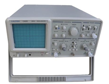 Caltek CA620N двухканальный аналоговый осциллограф двойной трассировки 20 МГц