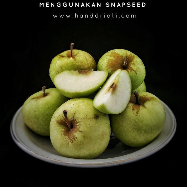 "Cara Edit Foto ""Dark and Moody Food Photography"" Menggunakan Snapseed"