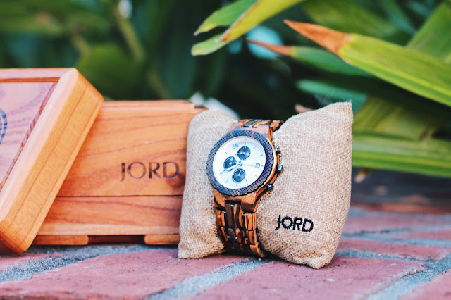 JORD Conway ZebraWood Wooden watch
