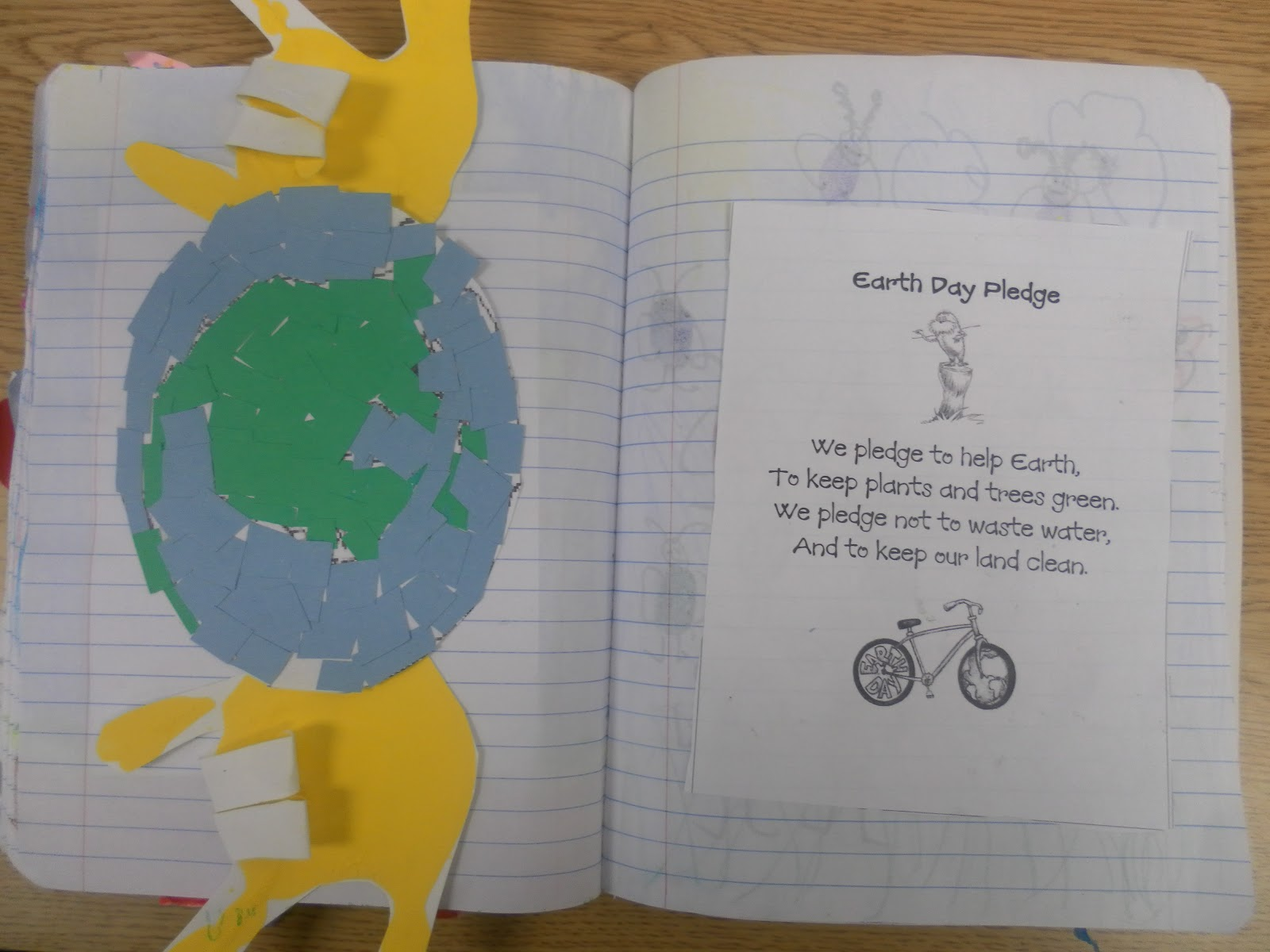 Just 4 Teachers Sharing Across Borders Earth Day Pledge Poem And Activity