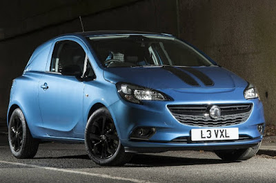 Vauxhall Corsavan Limited Edition Nav (2017) Front Side