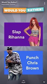 Shame On You - Rihanna To Snapchat On Ad