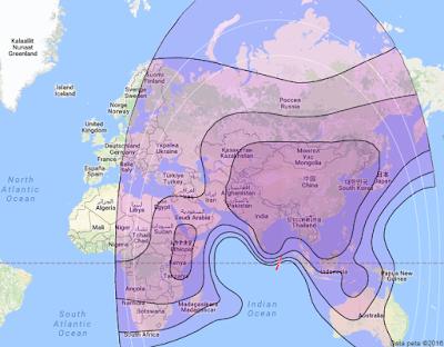 Satelit Chinasat 12 87.5°E CBand