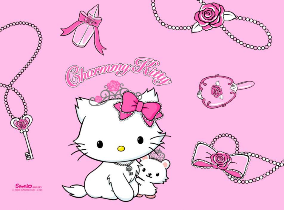 hello kitty wallpapers bergerak wallpaper cave