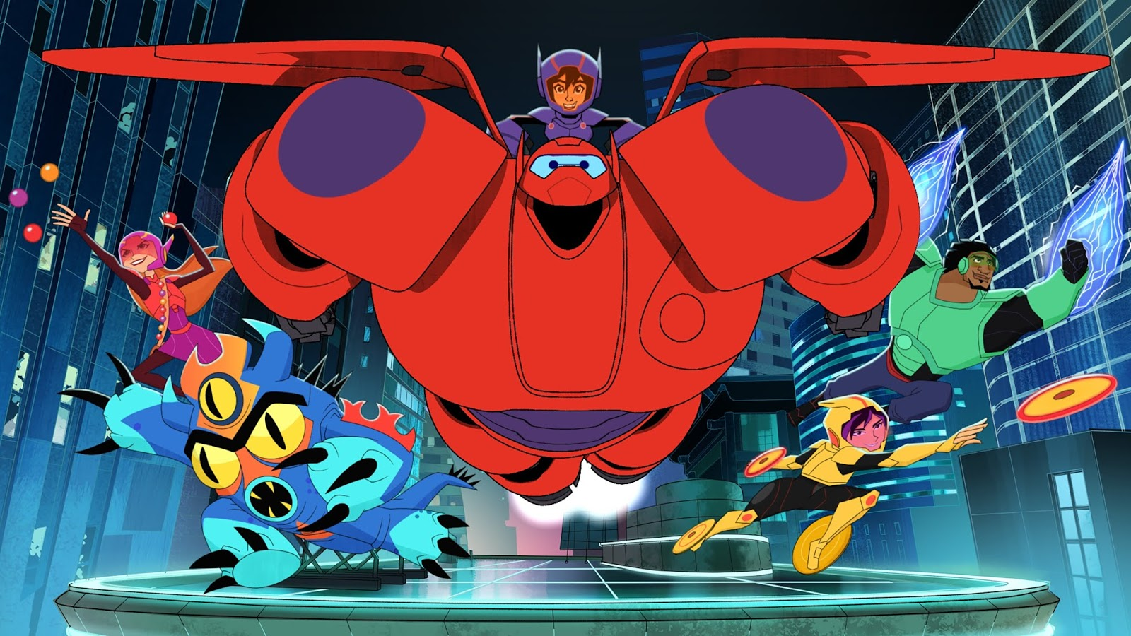 310ee3cccc Big Hero 6 The Series  Back in Action on DVD June 26th!