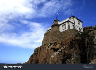 Lighthouse Prioriño, Ferrol, A Coruña, Galicia, Spain