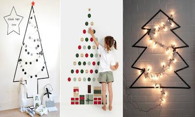 Inspirações: 6 Diys de Árvores Para o Natal!