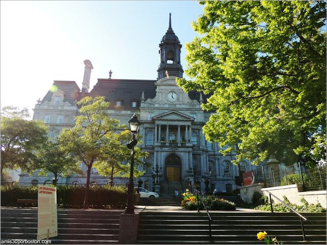 Fachada del Ayuntamiento de Montreal