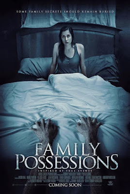 In The Dark's Leah Wiseman in Family Possessions movie poster