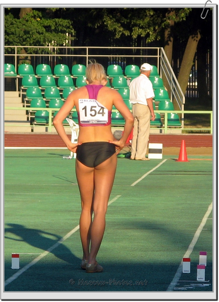Preparation for the long jump