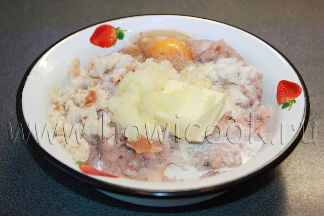 рецепт котлет из щуки со сливочным маслом с пошаговыми фото