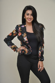 Nikki Galrani Latest Pictures in Floral Jacket ~ Celebs Next