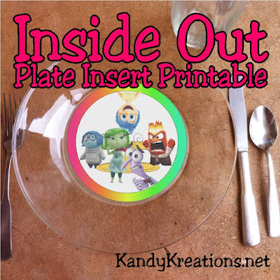 Throw a fun Inside Out party with this simple printable. Easily dress up your dessert table to excite the voices in your head as well as your party guests.