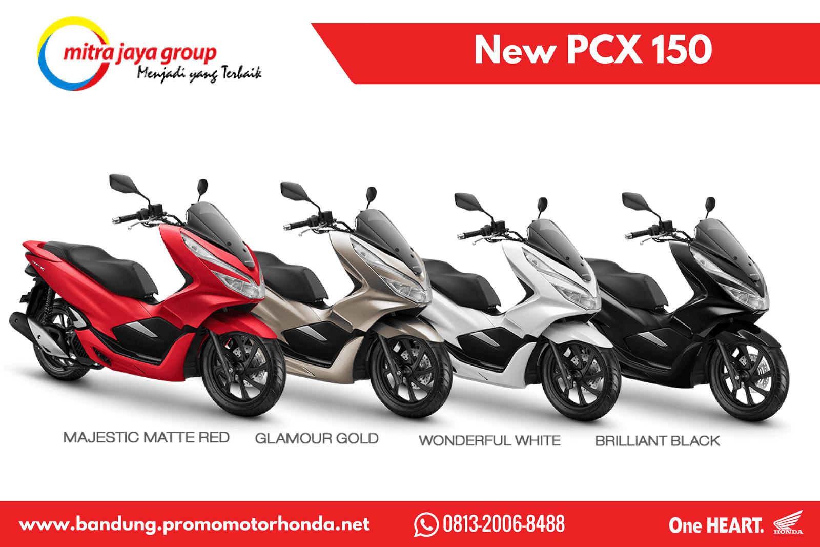 Harga Kredit Motor Honda All New Pcx Terbaru Wilayah Bandung