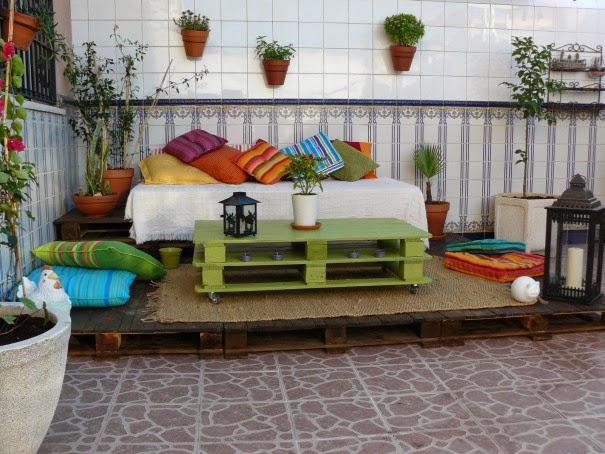 Decoración De Terrazas Con Palets Ideas Para Decorar
