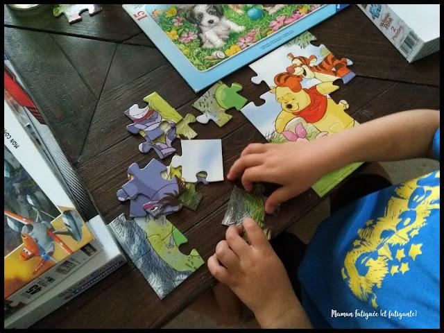 puzzle winnie disney
