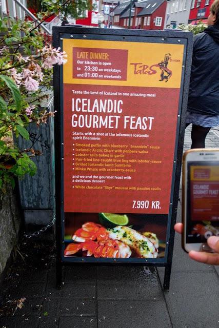 Tapas Barinn, Icelandic Gourmet Feast