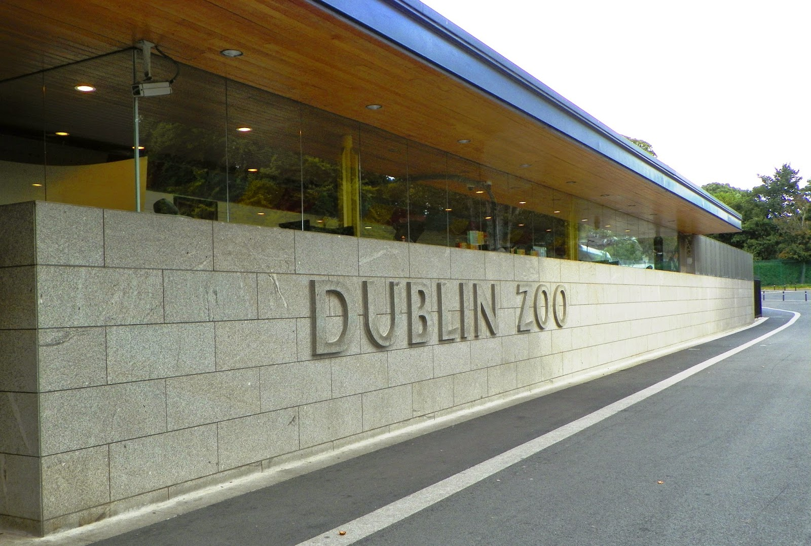 Dublin Zoo na Irlanda - o zoológico de Dublin