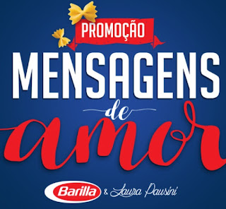Promoção Barilla 2017 Mensagens de Amor Laura Pausini Achou Ganhou
