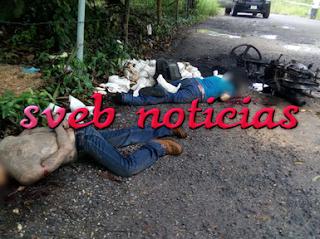 Identifican a los 2 ejecutados hallados en Minatitlan: eran hermanos
