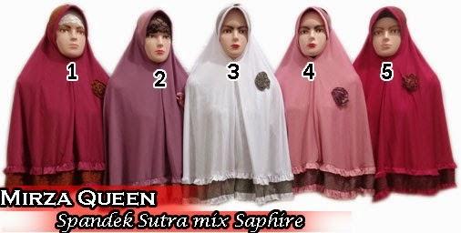 Jilbab instan terbaru mirza queen